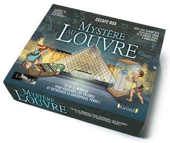 ESCAPE BOX - MYSTERE AU LOUVRE